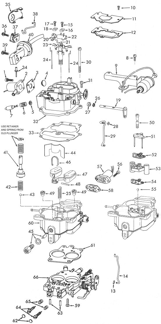 Carter BBD Carburetor