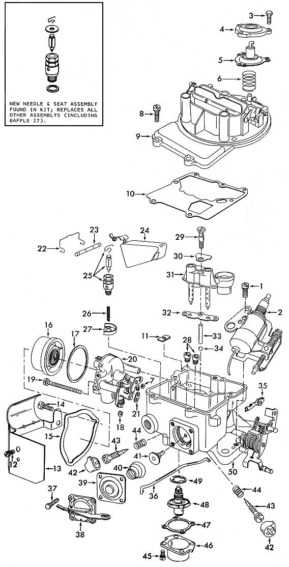 motorcraft 2150 carburetor diagram