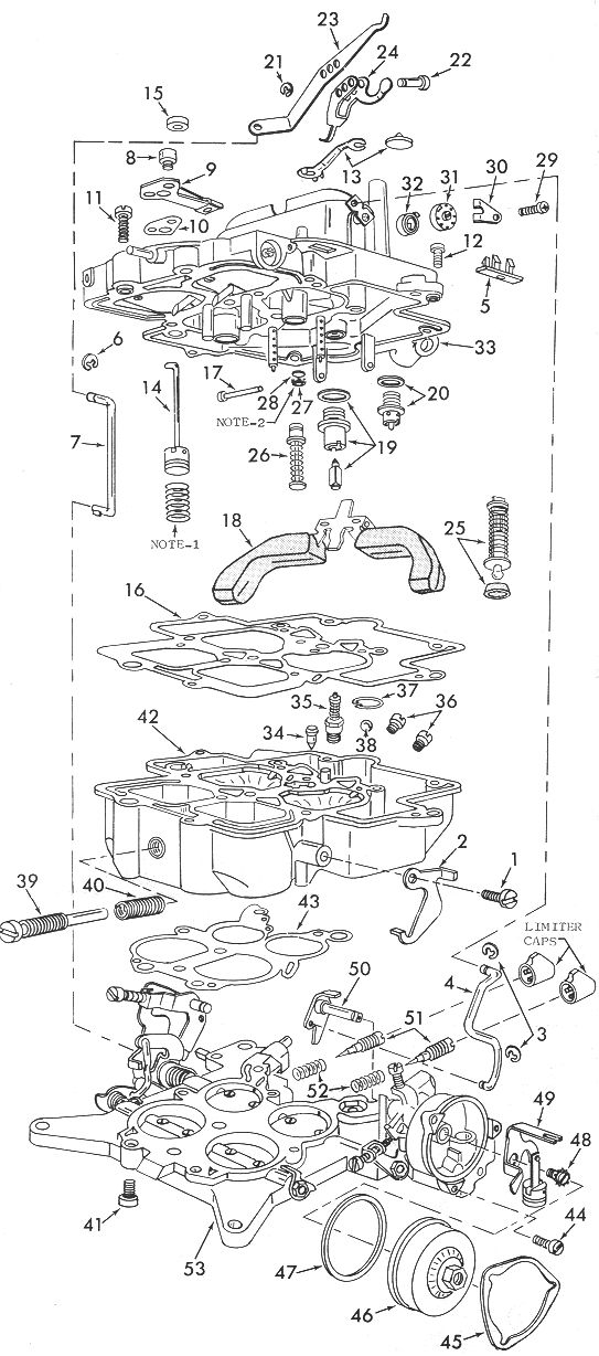 Motorcraft 4300A Carburetor