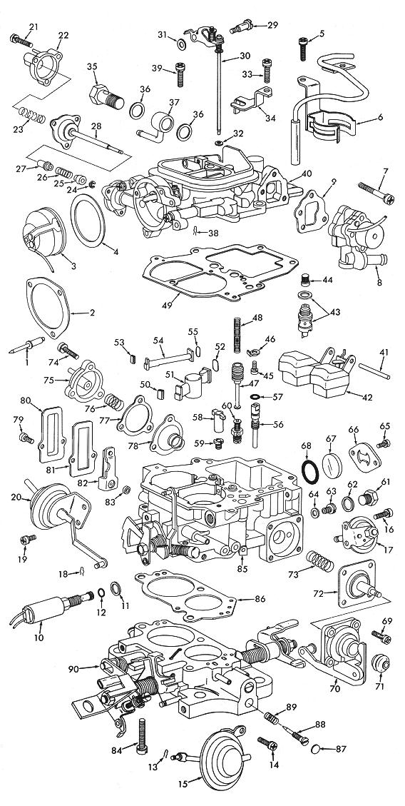 aisan 2 barrel exploded view carburetor factory rh carburetorfactory com aisan carburetor service manual toyota aisan carburetor manual