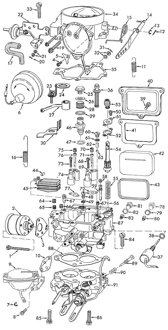 holley 1920 exploded diagrams diagrams wiring vacuum diagram of carter carburetor #14