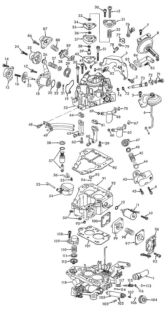 Solex Carburetor Diagram