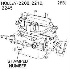 Holley 2209